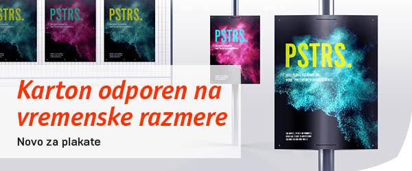 Tisk plakatov za zunanje oglaševanje