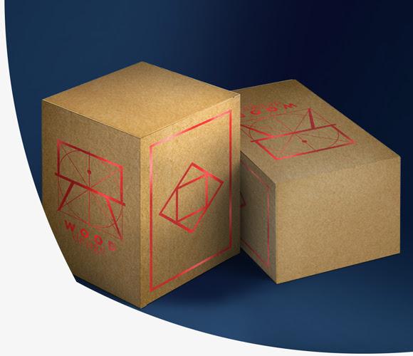 tisk na škatlice