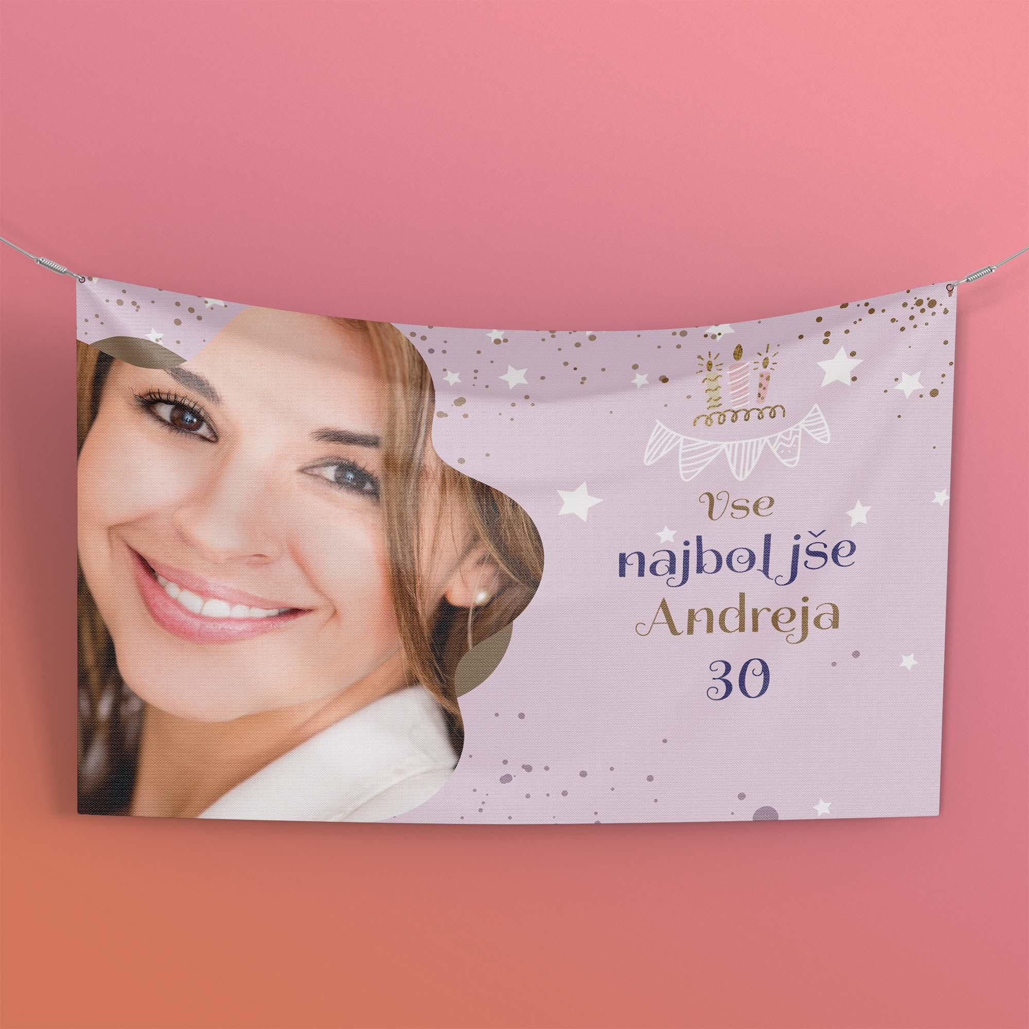 transparenti za rojstni dan