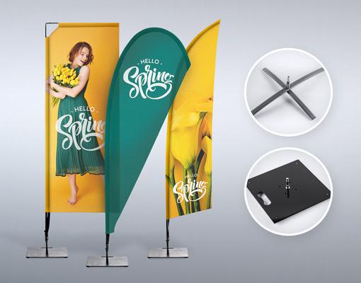 Izdelki za oglaševanje beachflag zastave